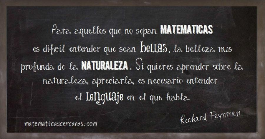 Frase de Richard Feynman
