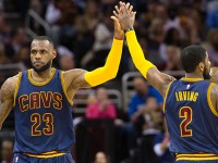 Irving y LeBron