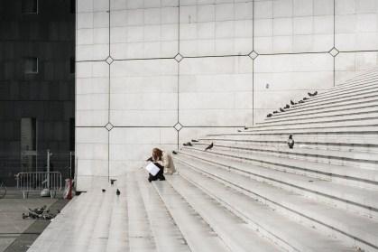 Escaleras en la Defènse, París . © mateoht 1990-2014 - http://lafotodeldia.net