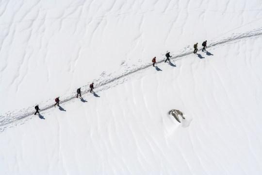 Mont Blanc - Chamonix, Francia. © mateoht 1990-2014 - http://lafotodeldia.net