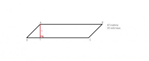 Cum aflam aria unui paralelogram