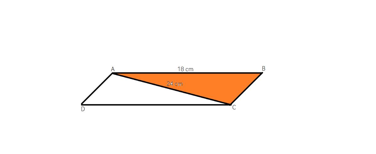 aria unui paralelogram