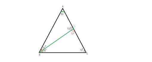 Cum aratam ca un triunghi este isoscel