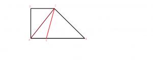 problema rezolvata cu trapezul dreptunghic