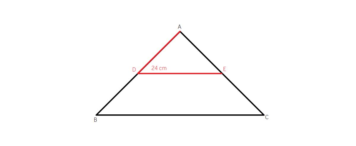 cum calculam linia mijlocie intr-un triunghi