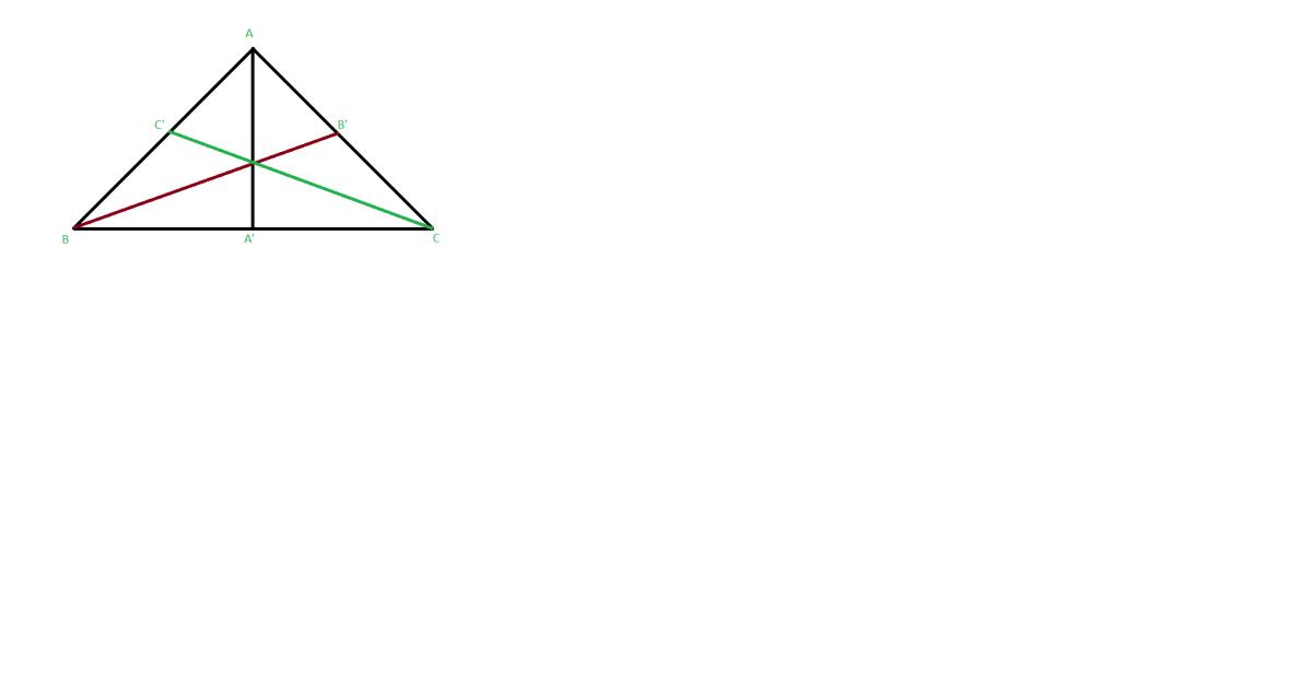 cum arata bisectoarele intr-un triunghi