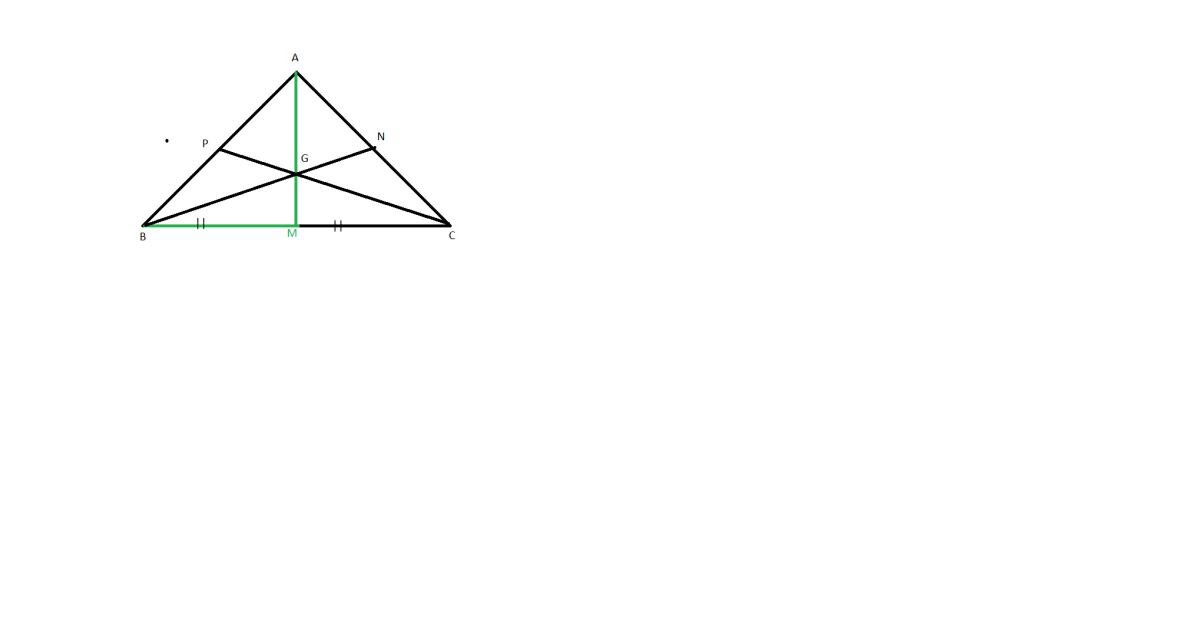 cum sunt medianele intr-un triunghi
