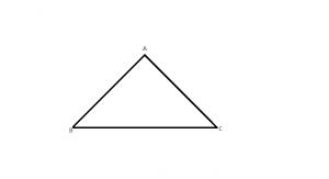 elementele unui triunghiu