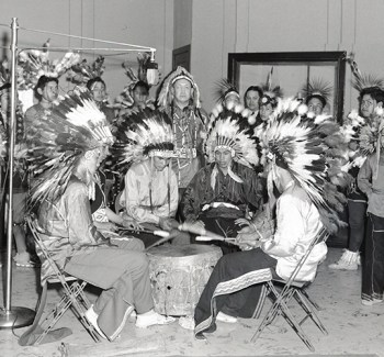 Pawnee Indian School students