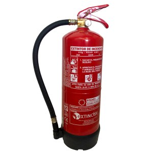 Extintor 6kg de polvo ABC