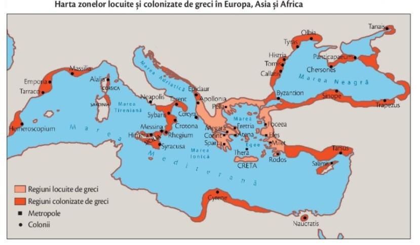 harta colonizare