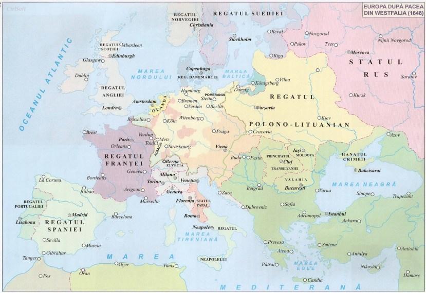 011. EUROPA DUPA PACEA DIN WESTFALIA (1648)