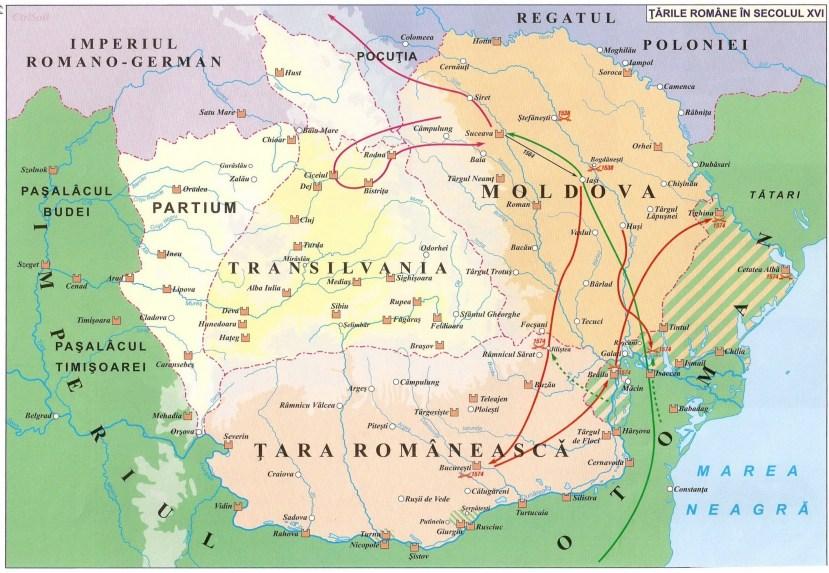 009. tarile romane in secolul xvi