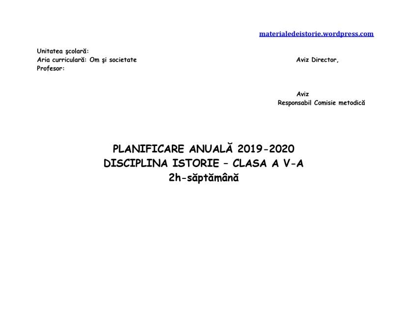 Planificare calendaristică clasa V a_page-0001