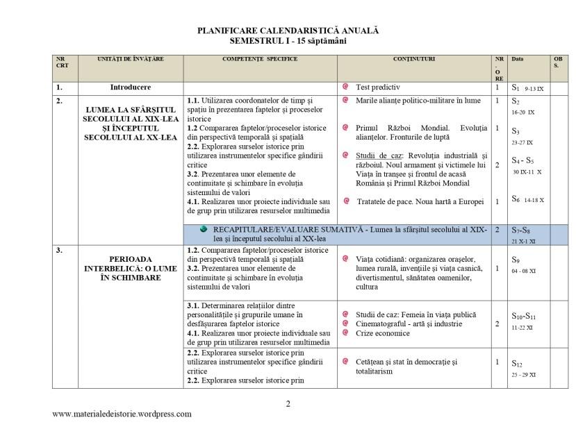 Planificare calendaristică clasa a VII - a_page-0002