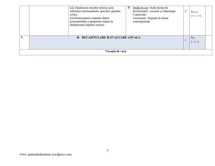 Planificare calendaristică clasa a VII - a_page-0005