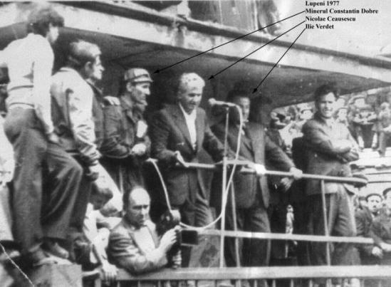 Greva-minerilor-1977-Ceausescu