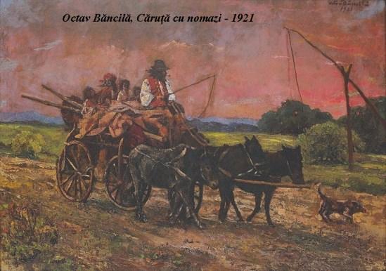 Octav_Bancila_-_Caruta_cu_nomazi
