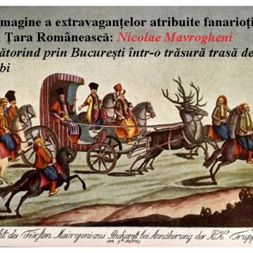 Mavrogheni_trasura_cerbi - Materiale de Istorie