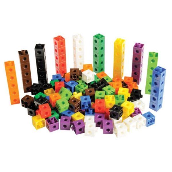 Cuburi colorate asamblabile 100 buc. 16