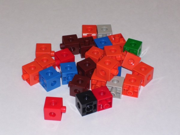 Cuburi colorate asamblabile 1000 buc. 11