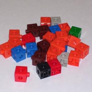 Cuburi colorate asamblabile 1000 buc. 23