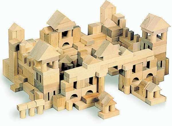 Set constructii din lemn 4