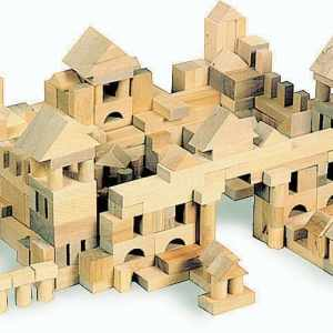 Set constructii din lemn 7