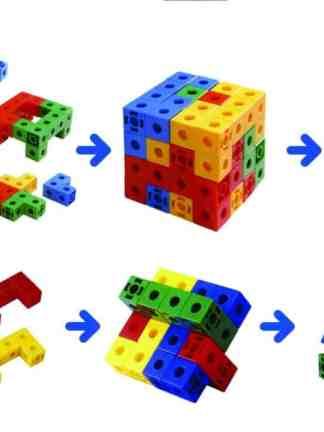 Cuburi asamblabile 1027 buc.