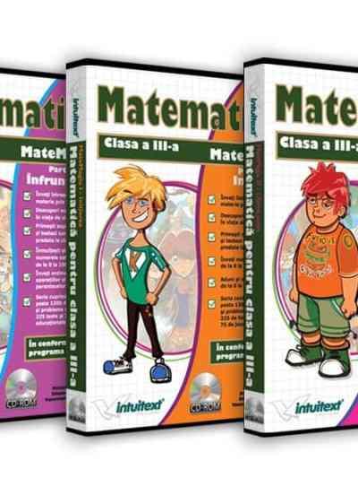 Pachet Matematica clasa a III-a
