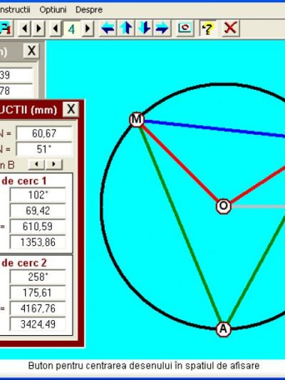 Geometrie Plana - CERCUL