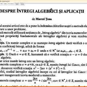 Gazeta Matematica - Editie Electronica 10