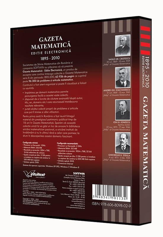 Gazeta Matematica - Editie Electronica 4
