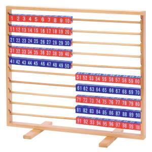 Abac demonstrativ cu cuburi demontabile, pana la 100 11
