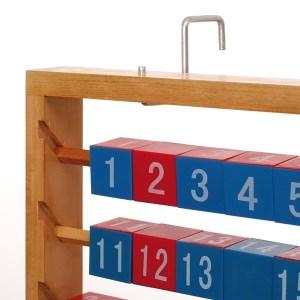 Abac demonstrativ cu cuburi demontabile, pana la 100 9