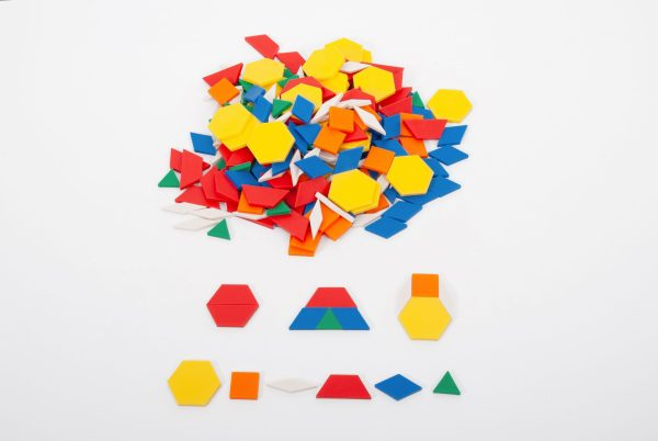 Forme geometrice plane, 250 piese 3