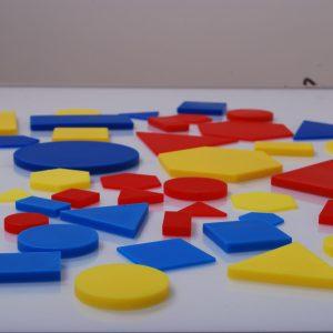 Forme geometrice plane plastic 9