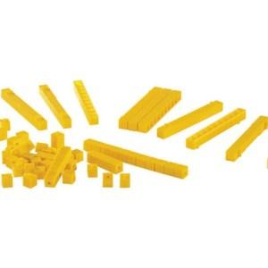 Sistemul zecimal - cuburi baza 10 interconectabile 23