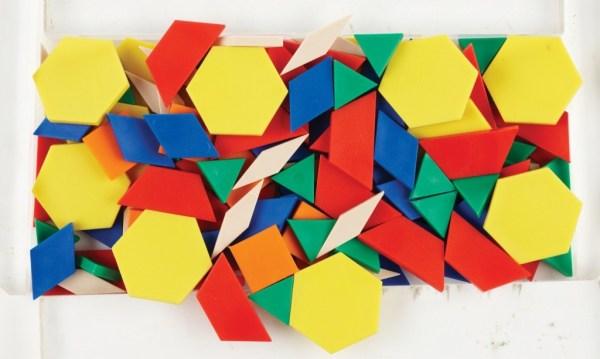 Forme geometrice plane, 250 piese 6
