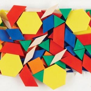 Forme geometrice plane, 250 piese 8