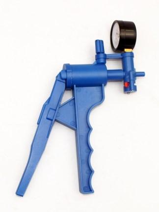 Pompa de vid manuala, cu manometru