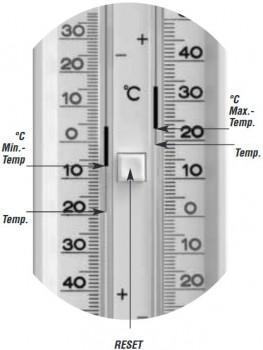 Termometru minim / maxim 8