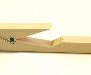 Clema de prins eprubete - lemn 10