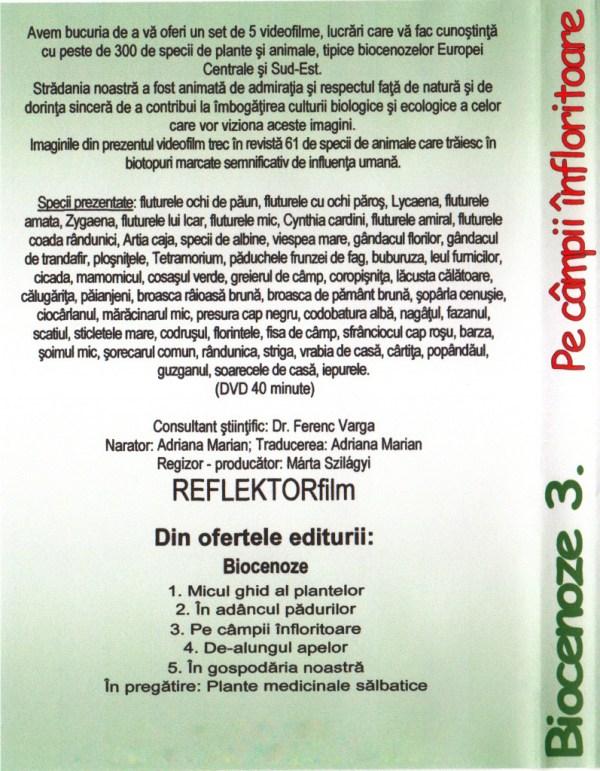 BIOCENOZE 3. Pe campii infloritoare 4