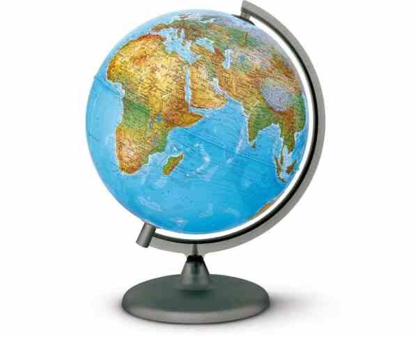 Glob geografic pamantesc iluminat 3