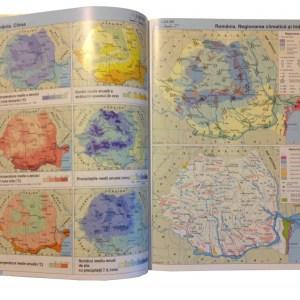 Atlas geografic scolar clasele 5-8 13
