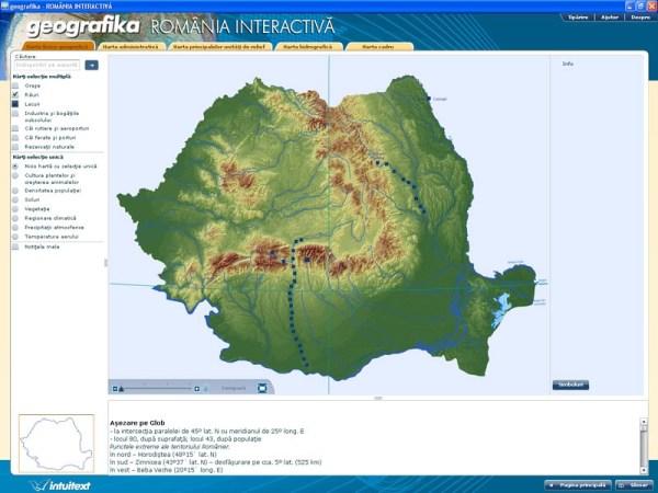 GEOGRAFIKA - Romania interactiva 4