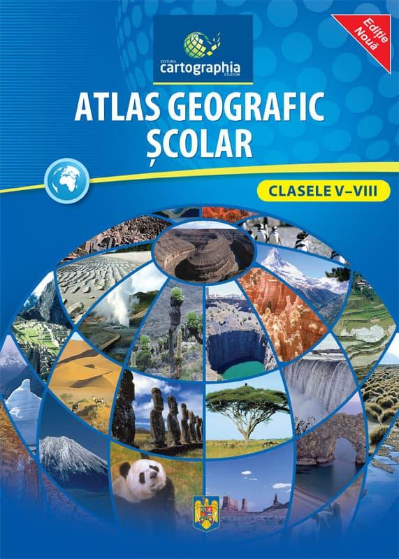 Atlas geografic scolar clasele 5-8 3