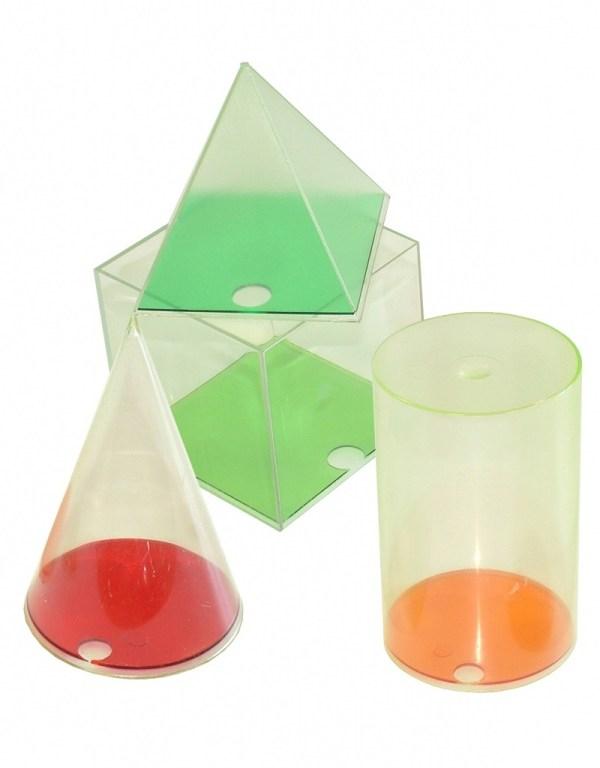 Set forme geometrice din plastic 3