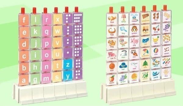 Puzzle 3D litere si cifre 4